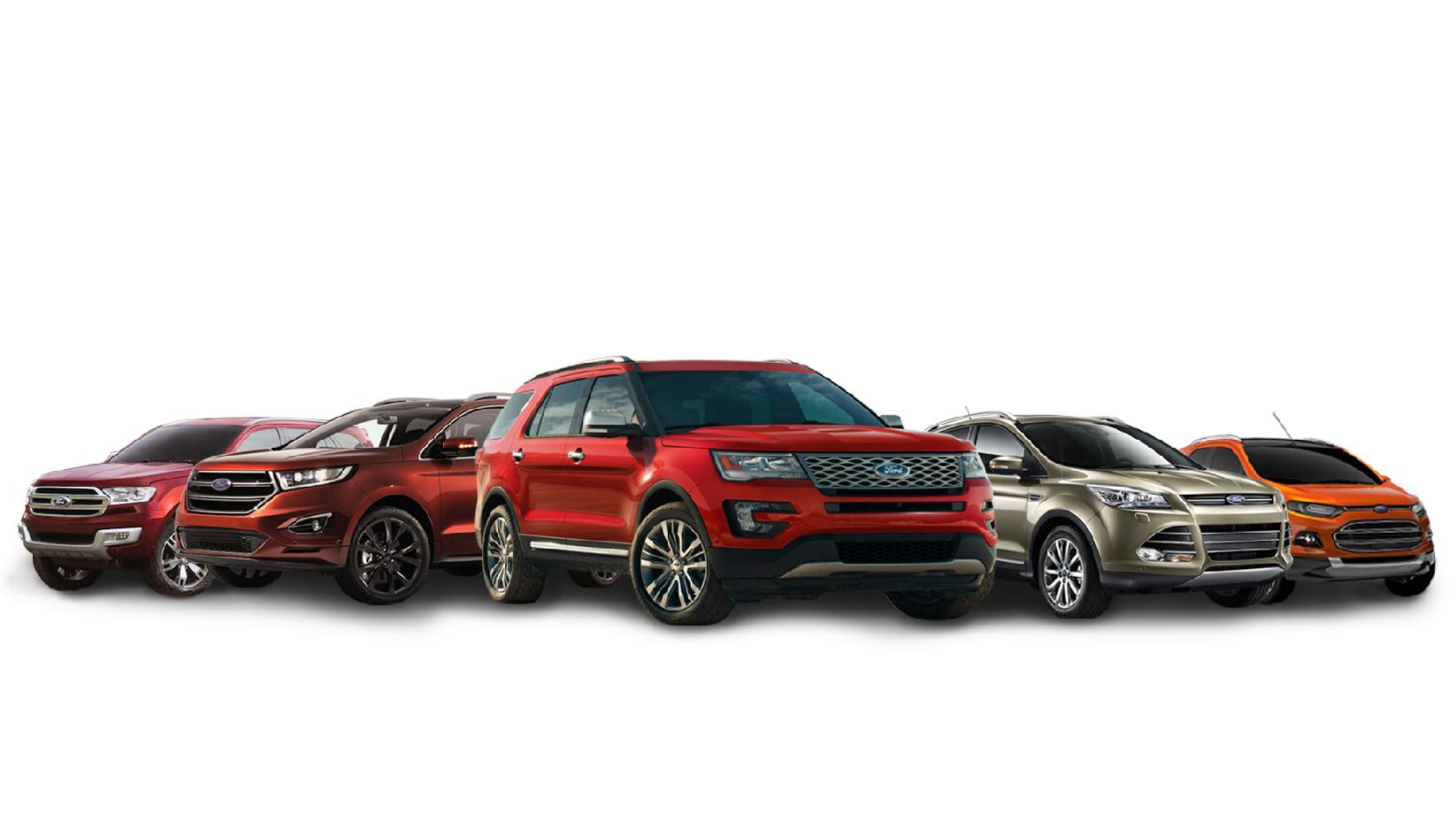 福特汽车目前在中国市场共推出5款suv产品
