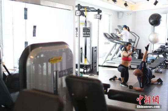 资料图:健身房。<a target='_blank' href='http://www.chinanews.com/'>中新社</a>记者廖攀摄(图文无关)