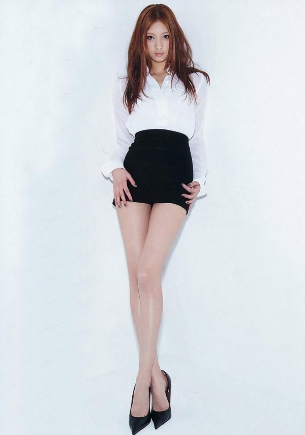 长腿美女写真 图揭全球腿长美女 联盟中国