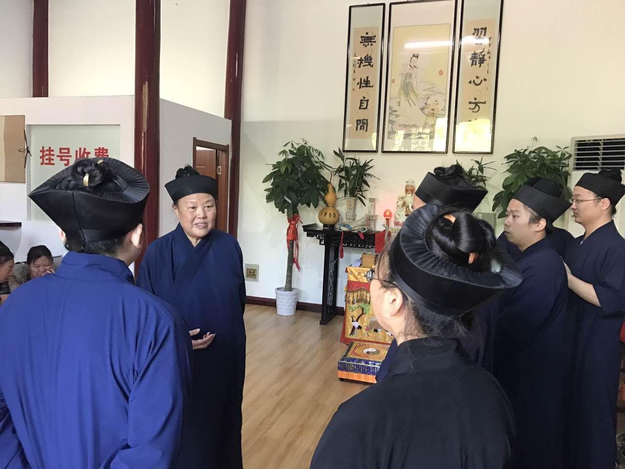 乌鲁木齐乌鲁木齐观乌鲁木齐堂举行开业典礼暨道医义诊活动
