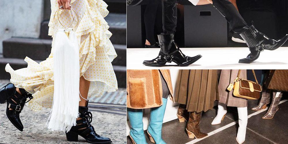 牛仔,靴子,時尚,HoodbyAir,出現