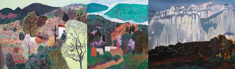 《王克举油画-东方既白》(广西美术出版社) 《当代油画-风景写生作品