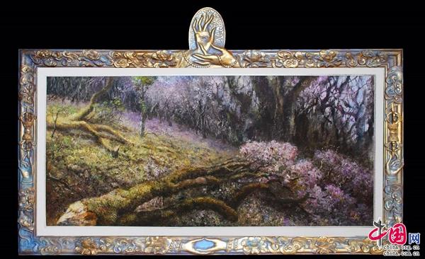 """""""美丽中国,我是行动者""""刘永环保主义油画展将于7月23日在公园大观楼后"""