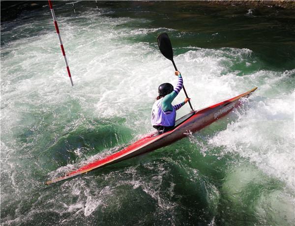 皮划艇激流回旋体育品牌锦标赛张家界开赛全国融合旅游成青年漂流排行榜图片