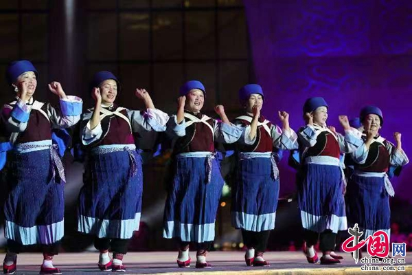 全国广场舞展演活动云南省集中展演在昆举行