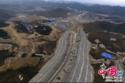领跑3P新项目--记卡通十四局贵州双龙PPP教程maya水电模式建模图片