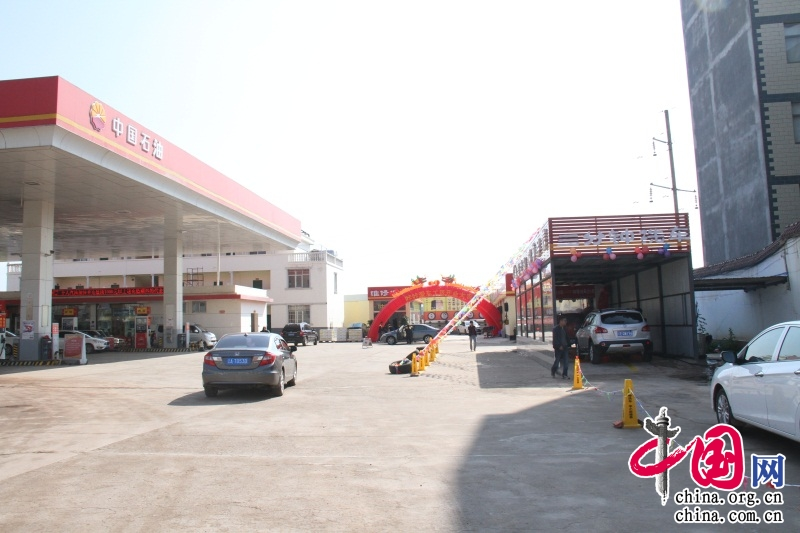 服店_中国石油加油站内汽服店满足车辆保养,维修的后服务需求