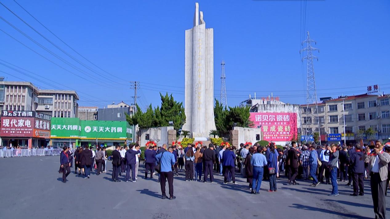 江苏泰州:纪念黄桥战役胜利80周