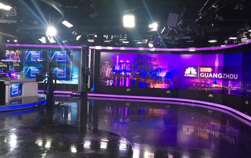 全球第一财经新闻媒体cnbc希望在广州增设国际演播厅报道中国创新案例