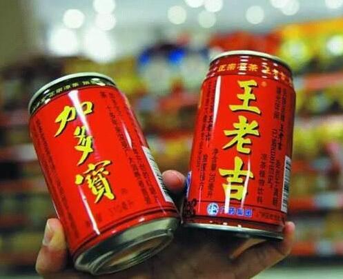最高法终审判决:王老吉与加多宝共享红罐包装图片