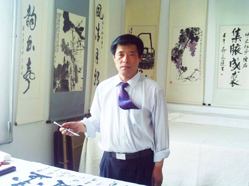 笔墨书法人生---记著名书法家吕哲