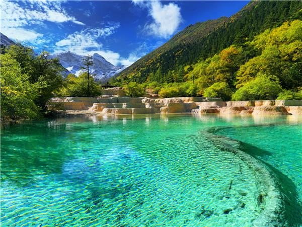 四川黄龙风景区_联盟中国_中国网
