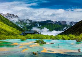 景区,黄龙,旅游,文化,资源