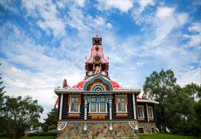 俄罗斯,庄园,文化,伏尔加,城堡