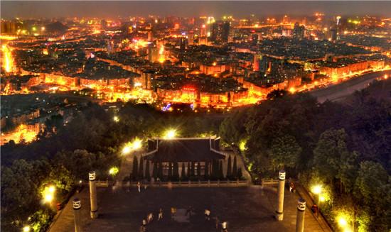四川省南充市西山风景区