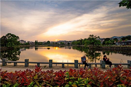 杭州农村风景图片