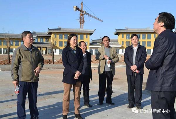 长治县政协就开发区建设工作进行调研